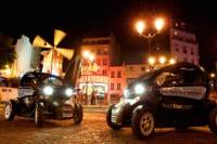 Electric Car Tour of Paris by Night with GPS Audio Guide