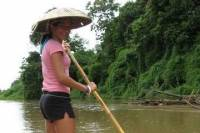 Elephant Trek, Rafting and Hilltribe Village Tour from Chiang Mai