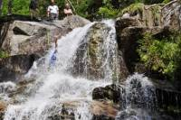 Falling Waters Trail Waterfall Rappelling Experience