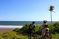 Family Mountain Bike Tour in Tanah Lot