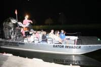 Florida Airboat Adventure at Night