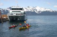 Fox Island Sea Kayaking with Sightseeing Cruise from Seward