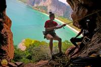 Full Day Rock Climbing and Caving Tours at Railay Beach in Krabi
