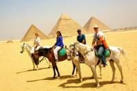 Full-Day Tour to Memphis, Saqqara and Giza Pyramids from Cairo with Private Tour Guide