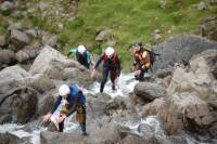Ghyll Scrambling in Newlands