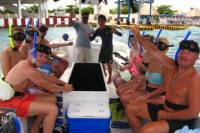 Glass-Bottom Boat and Snorkeling Tour with Beach Break in Cozumel