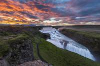 Golden Circle Tour and Evening Northern Lights Cruise from Reykjavik