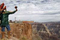 Grand Canyon West Rim Adventure from Sedona: Helicopter Tour, Boat Ride and Lunch