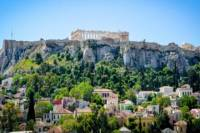 Greek Cooking Class in Athens Including Rooftop Dinner with Acropolis View