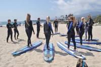 Group Surf Lesson in Santa Barbara