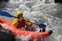Half-Day Inflatable Kayaks Roaring Fork River