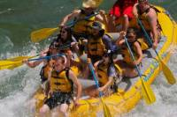 Half Day or Full Day Snake River Whitewater Rafting Trip with Cookout
