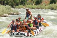 Half-Day Rafting on the Yellowstone River