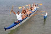 Hawaiian Outrigger Canoe Lesson and Guided Tour