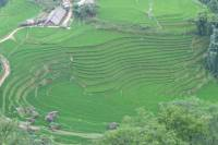 Heaven Gate Pass and Silver Waterfall Guided Bike Tour from Sapa Town
