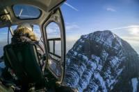 Helicopter Tour over the Canadian Rockies