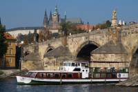 Historic Prague Lunch Cruise on Vltava River
