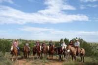Horseback Riding Along Route 66
