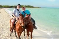 Horseback Riding in St Lucia to Cas en Bas Beach