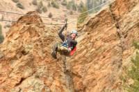 Idaho Springs Cliffside Zipline and Freefall