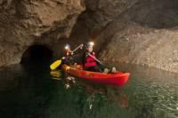 Kayaking Day Activity in Underground Mines