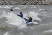 Kayaking on the Jatunyaku River