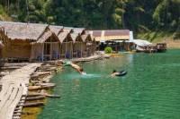 Khao Sok Jungle Safari and Raft House Adventure on Cheow Larn Lake from Krabi