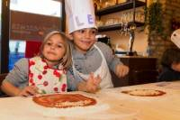 Kids Pizza Cooking Class in Rome
