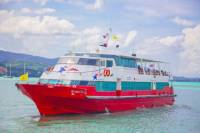 Koh Lanta to Koh Samui by Van Including VIP Coach and High Speed Ferry