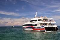Koh Phangan to Surat Thani Airport Including High Speed Catamaran and Shared Van