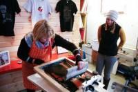 Kopavogur Screen-Print Technique Workshop
