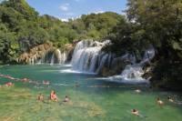 Krka Waterfalls and Sibenik Tour from Split