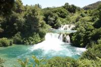 Krka Waterfalls and Sibenik tour