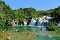 Krka Waterfalls and Sibenik Town