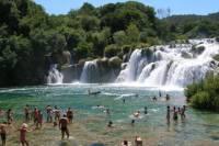 Krka Waterfalls Sibenik and Klis Fortress Private Tour from Split