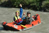 Lütschine River Tandem White-Water Rafting Experience from Interlaken