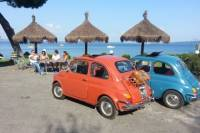 Lake Bracciano Day Trip from Rome in a Vintage Fiat 500