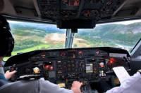 Landing Challenge in a Flight Simulator at Birmingham Airport