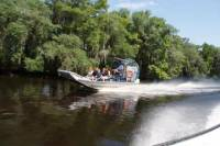 Large Airboat Swamp Tour with Hotel Pickup