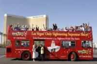 Las Vegas Double-Decker Bus of the Stars