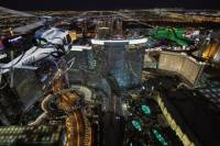 Las Vegas Night Flight Helicopter Wedding Ceremony