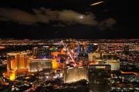 Las Vegas Strip Helicopter Flight at Night