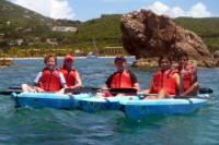 Lindbergh Bay Beach Kayak and Snorkel Tour