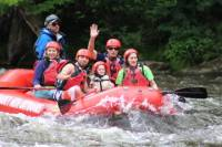 Lower Pigeon River Rafting Trip