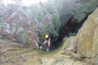 Marble Mountain Rappelling Tour with Temple and Cave Exploration from Hoi An