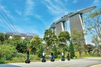 Marina Bay Segway Tour in Singapore