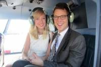 Married Over Manhattan: Helicopter Wedding in New York City