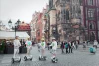 Medieval Prague City Tour with NineBot Scooter