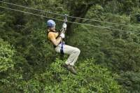 Montego Bay Shore Excursion: Zipline and Jungle River Tubing