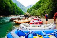 Montenegro White-Water Rafting Day Trip from Dubrovnik